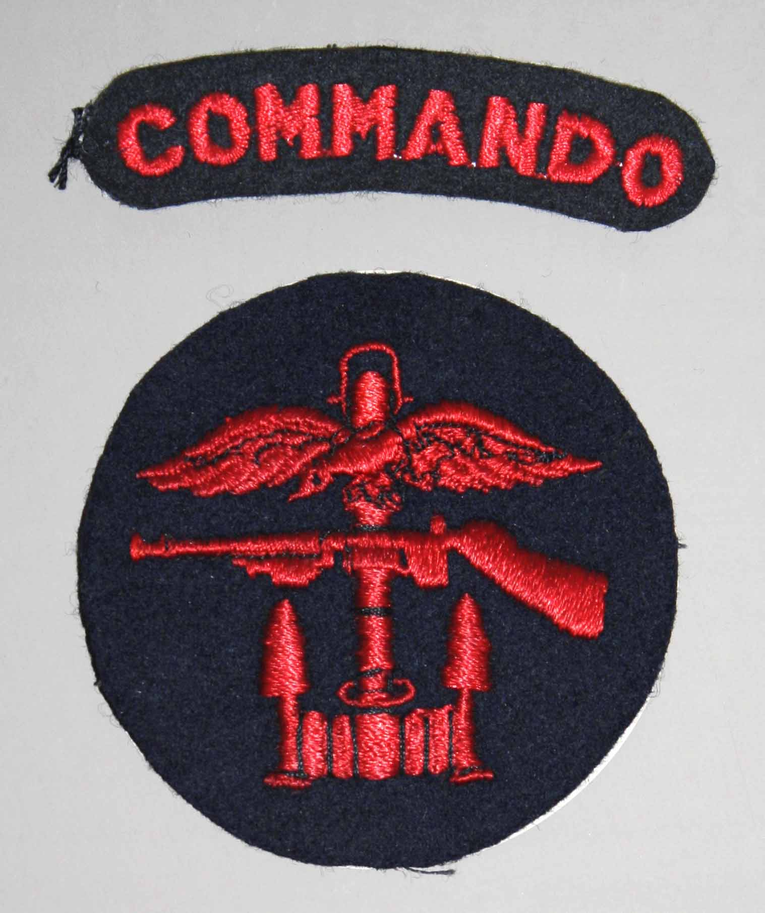 Mundur polskiego komandosa